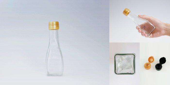 タレ・ドレッシング瓶 オールラウンド 120B