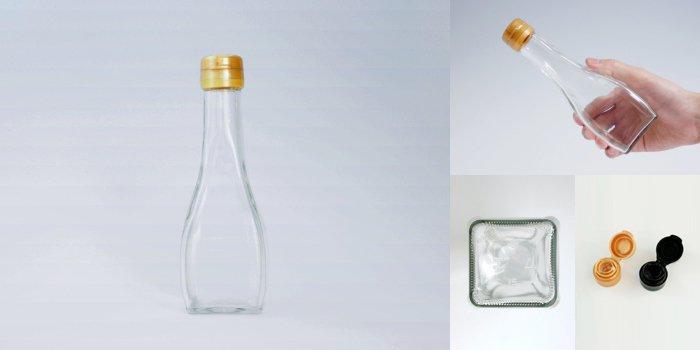 タレ・ドレッシング瓶 オールラウンド 180B