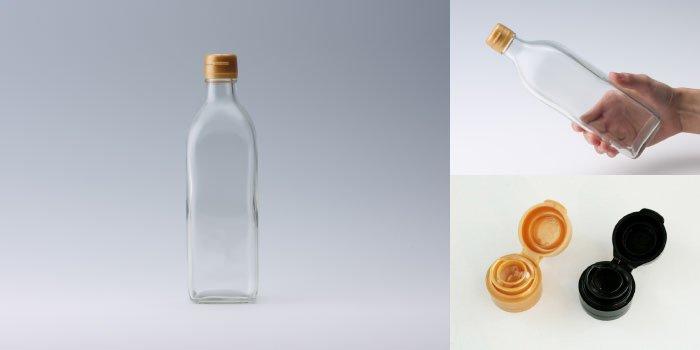タレ・ドレッシング瓶 NO.500