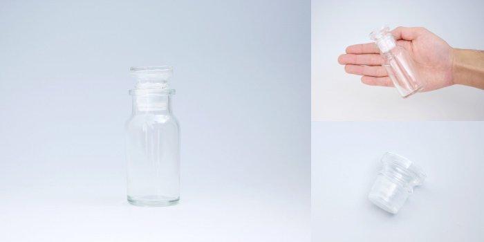 スパイス瓶 ワグナービン ガラス蓋