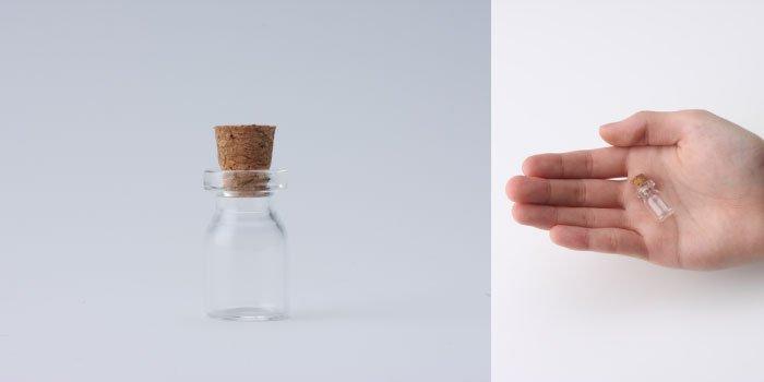 コルク付規格瓶 v13×22