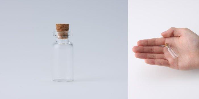 コルク付規格瓶 v15×33