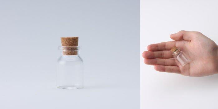コルク付規格瓶 v23×35