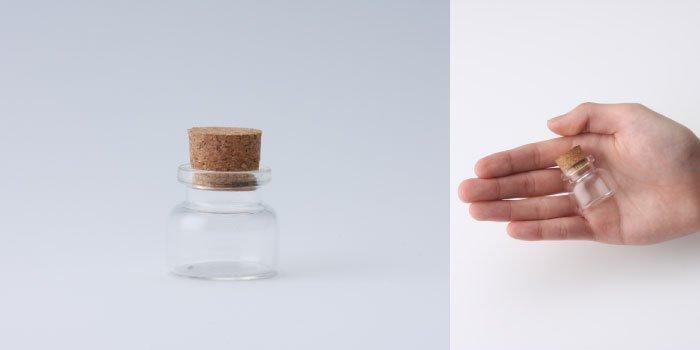 コルク付規格瓶 v30×28