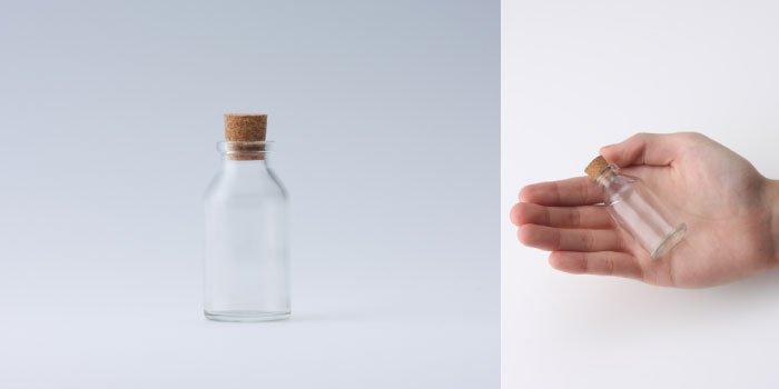 コルク付規格瓶 v30×60