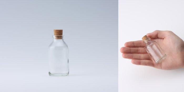 コルク付規格瓶 v33×63