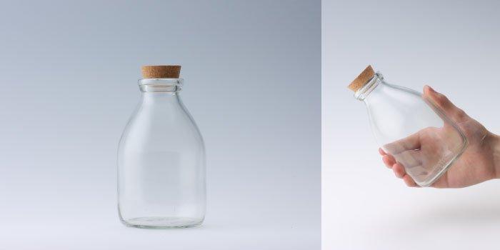 コルク付規格瓶 M-500コルク付
