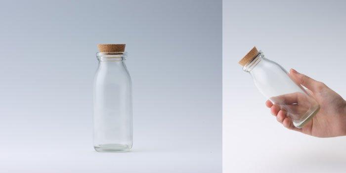 コルク付規格瓶 M-200コルク付