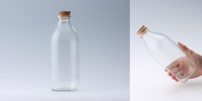コルク付規格瓶 M-900Kコルク付