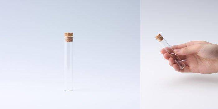 コルク瓶 コルク付瓶 15×90