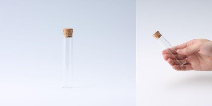 コルク瓶 コルク付瓶 18×90