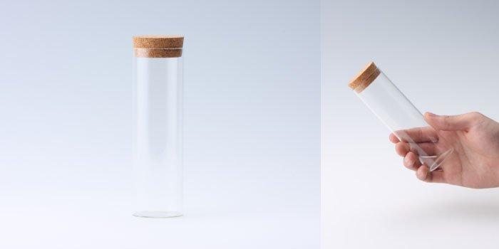 コルク瓶 コルク付瓶 40×130