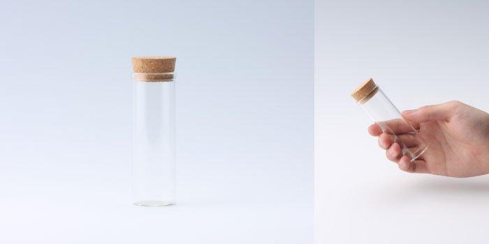 コルク瓶 コルク付瓶 30×90