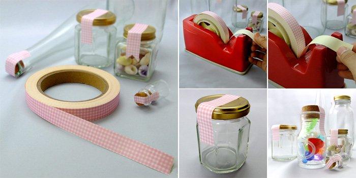 コルク瓶 クラフトシール ピンク craftseal-pink 20m