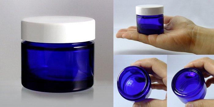 遮光瓶 クリーム瓶 E-50クリーム 白CAP