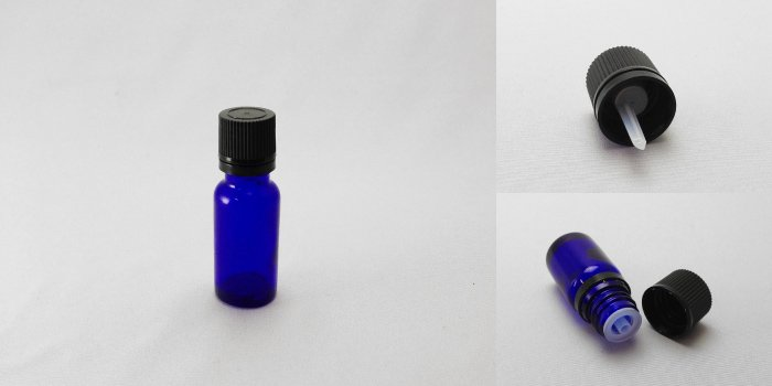 遮光瓶 TBG-15 ブルー