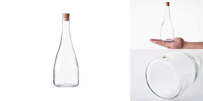 コルク付規格瓶 SKT-300 コルク(21×16×21)