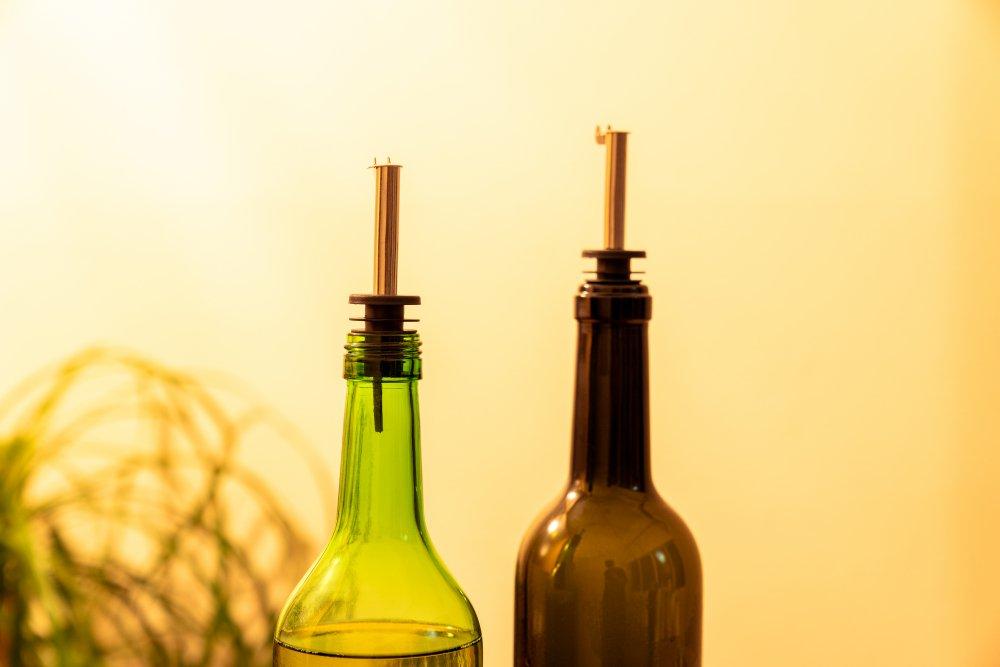 ワイン・洋酒瓶  フリーポアラー