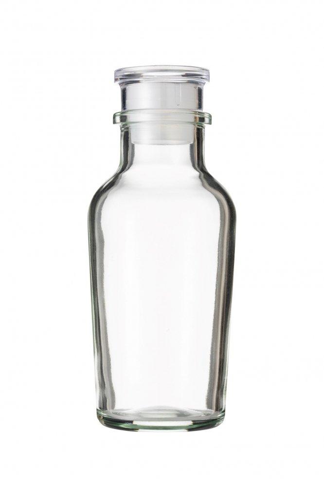 ワグナー瓶120  樹脂キャップ 中栓付