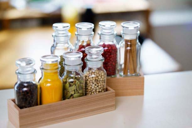 国産天然杉使用スパイスラック※瓶は商品には含まれません※ 【画像3】