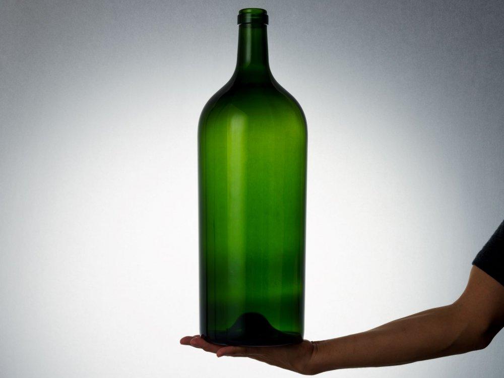 ワイン6リットルグリーン(蓋なし)【画像3】