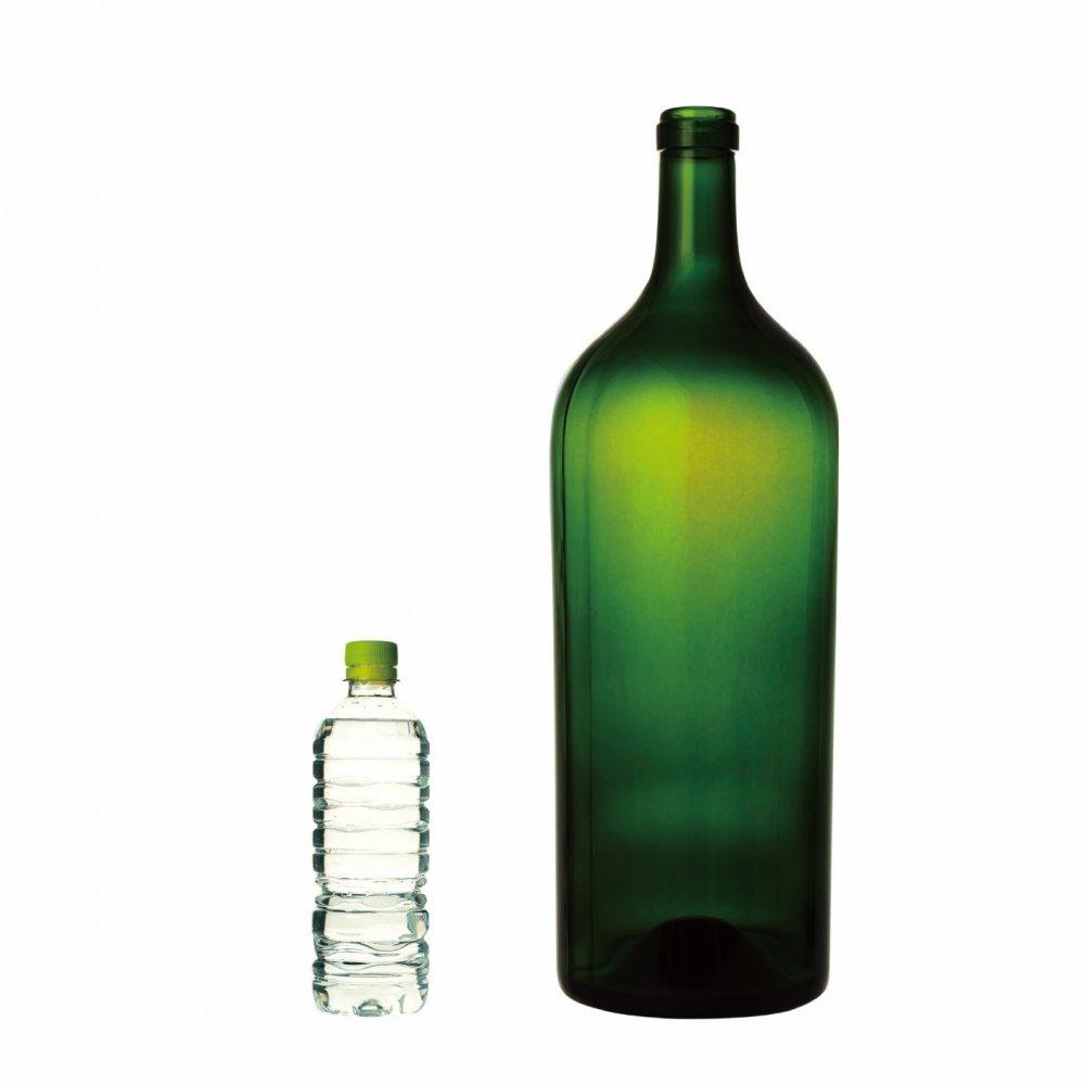 ワイン6リットルグリーン(蓋なし)【画像4】