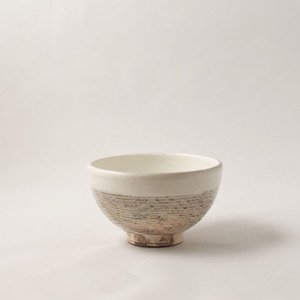 茶碗 アラヨコボリ(小)  粉引  [古谷浩一]