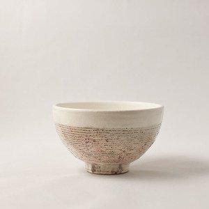 茶碗 アラヨコボリ(大)  粉引   [古谷浩一]
