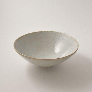 白磁 魚々子茶碗 [竹内玄太郎]