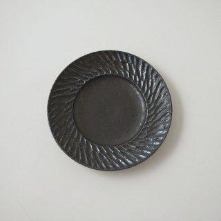 リム平皿 4寸   [山本雅則]