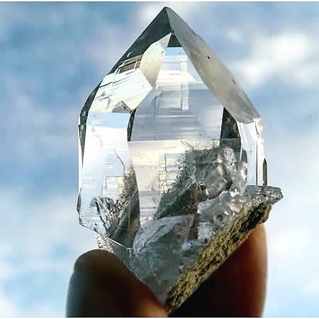 ヒマラヤ水晶<br>トップクリア