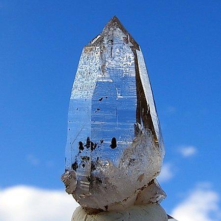 Hematite in quartz