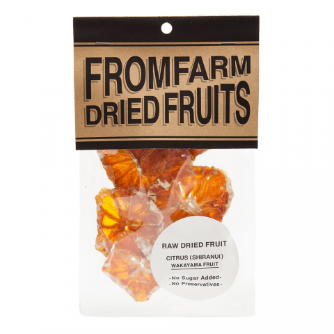 FROM FARM 「DRIED FRUITS ( ドライフルーツ ) - CITRUS ( 不知火 )」