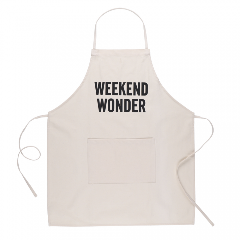 DRESSSEN 「ADULT APRON (WEEKEND WONDER)」