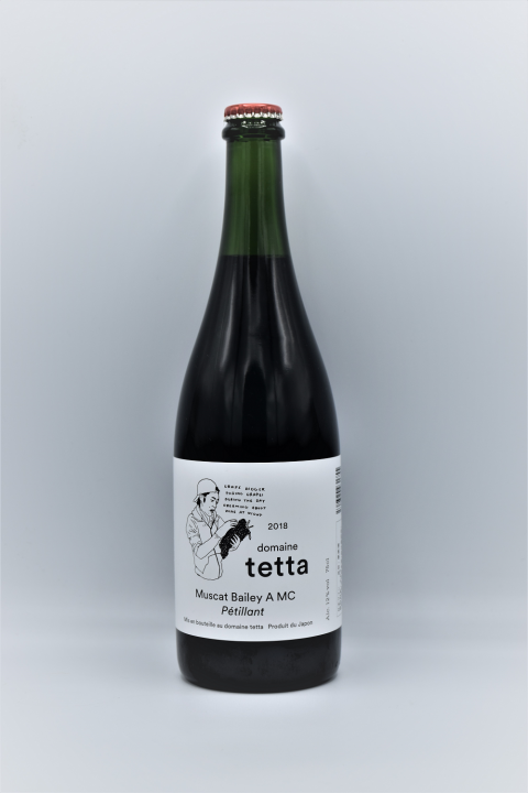 <img class='new_mark_img1' src='https://img.shop-pro.jp/img/new/icons1.gif' style='border:none;display:inline;margin:0px;padding:0px;width:auto;' />domaine tetta 「2018 Muscat Bailey A MC Petillant」