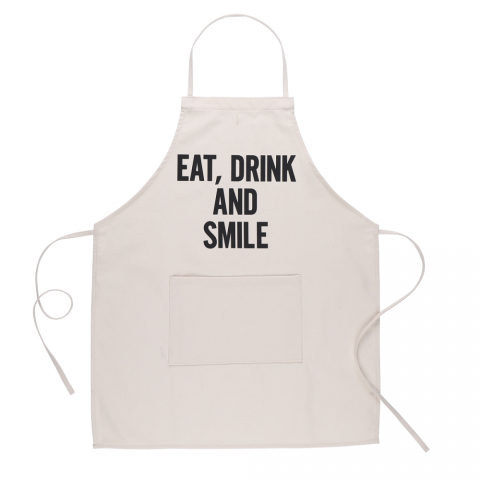 DRESSSEN 「ADULT APRON (EAT , DRINK AND SMILE)」