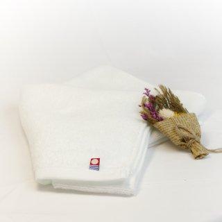 今治タオル フェイスタオル ピュアホワイト Imabari Towel Pure White 83cmx 34cm (1本)