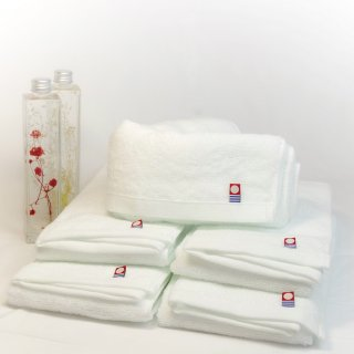今治タオル フェイスタオル ピュアホワイト Imabari Towel Pure White 83cmx 34cm (10本セット)