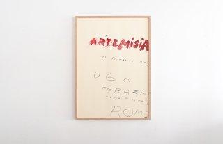 Cy Twombly / Galleria Ugo Ferranti 1980