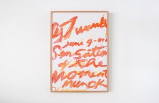 Cy Twombly /  2009 Sensations at the Moment