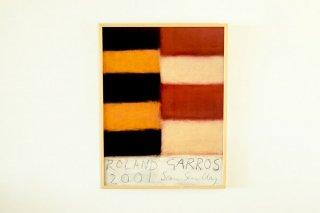 Sean Scully / Roland Garros - 2001