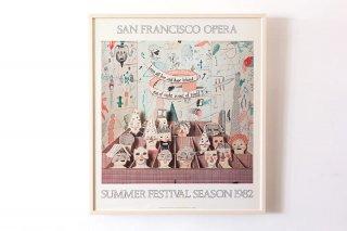 David Hockney / SAN FRANCISCO OPERA 1982