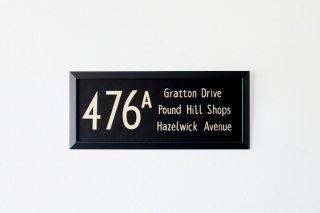 BUS BLIND 476a Gratton Drive - Pound Hill - Hazelwick