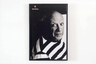 APPLE THINK DIFFERENT POSTER - PABLO PICASSO 2 -