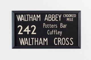Bus Blind / 242 WALTHAM ABBEY -  WALTHAM CROSS