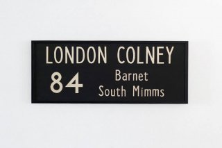 Bus Blind  / 84 LONDON COLNEY ~ Barnet ~ South Mimms
