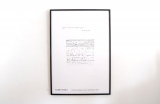 Yoko Ono / A poem to be read with a magnifying glass.