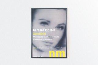 """Gerhard Richter  /   """"Ausschnitt"""" Museum für Kunst und Design Nürnberg   - 2014 -"""
