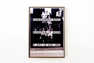 Christopher Wool / Kunsthalle Bern 1991