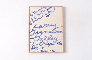 "Cy Twombly / "" Salalah "" Gagosian Gallery 2008"